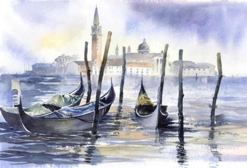 022 - Venice - San Giorgio and Gondolas.jpg