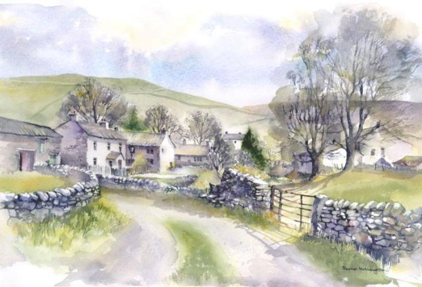 069 - Starbotton from the Wharfe, Yorkshire.jpg