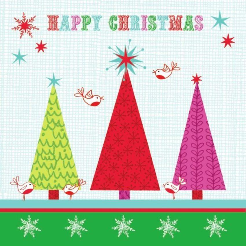 Happy Christmas trees-robins-stars card.jpg