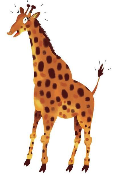 giraffe-psd