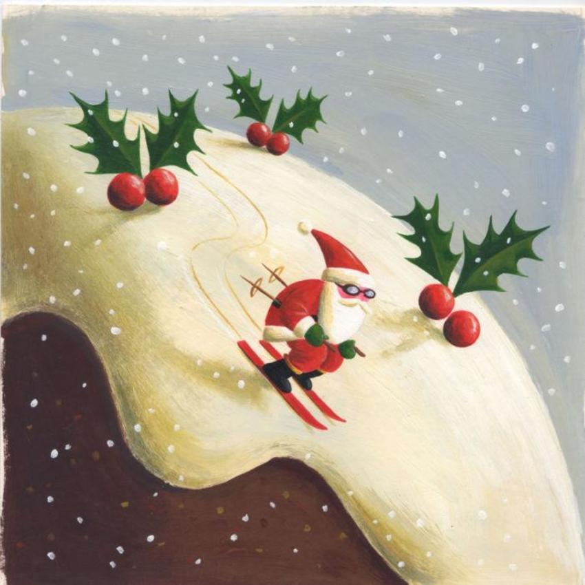 santa skiing on pud (2).JPG