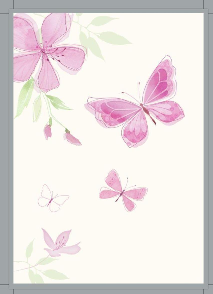 butterfly/floral.psd