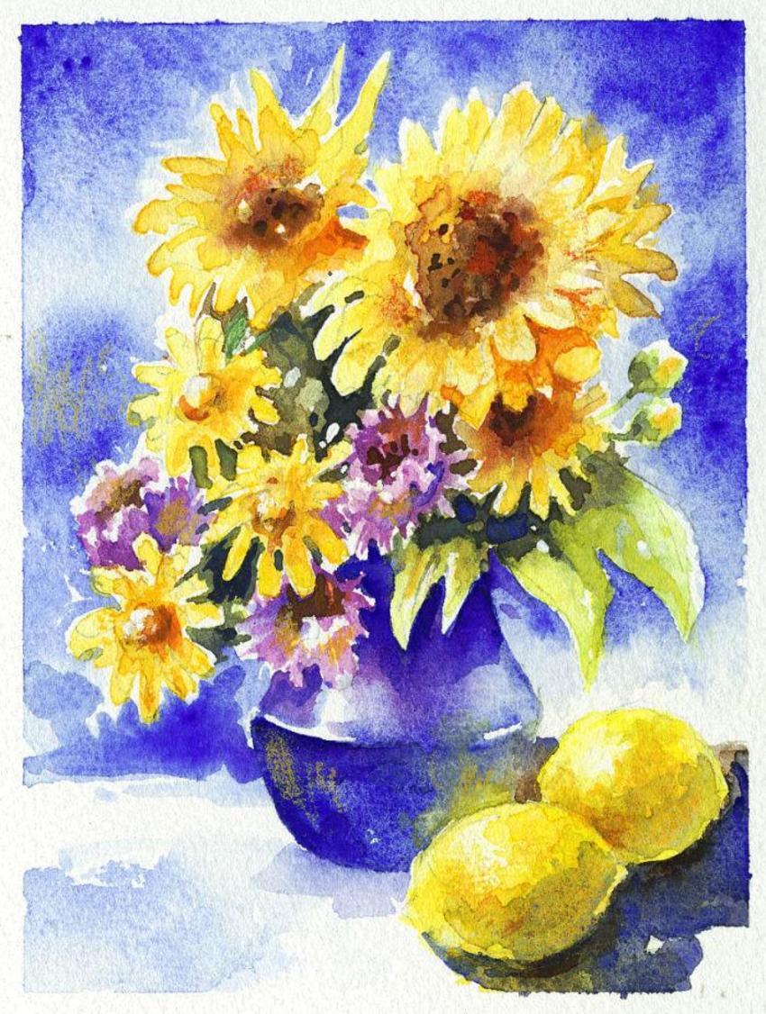 JML yellow flowers