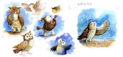 owl-character-sketches-colour-board-cr