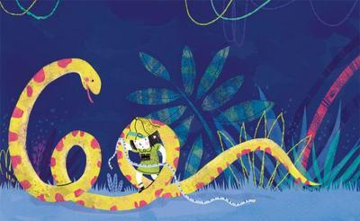 girl-explorer-jungle-snake