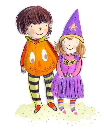 halloween-kids-pumpkin-fairy