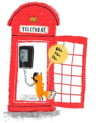fox-telephone-box-london