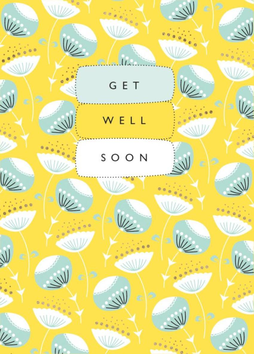 RP Floral Pop Vector Pattern Get Well