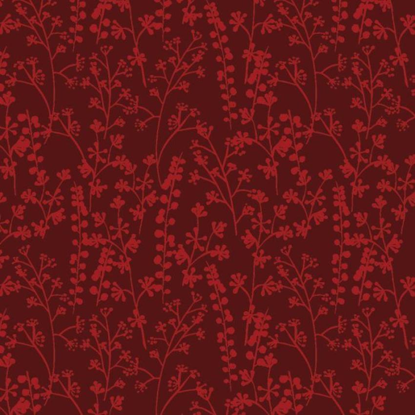 RP Red Winter Foliage Pattern Wrap
