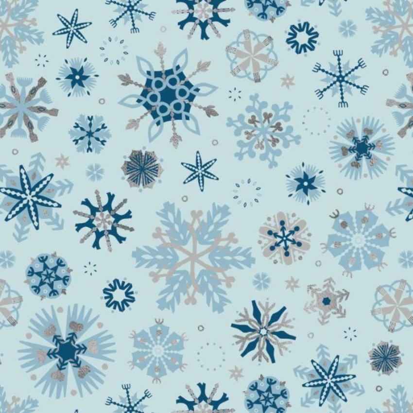 RP Wrap Blue Graphic Flakes