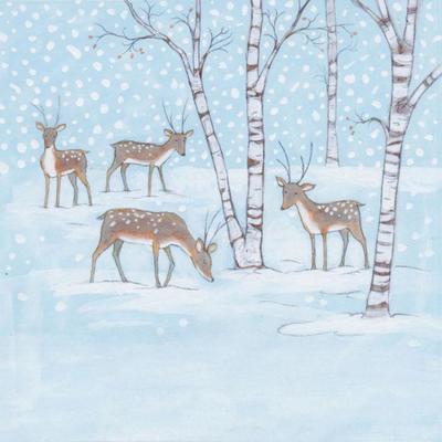 snowy-herd
