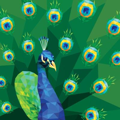 geo-peacock