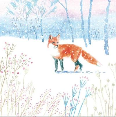 winter-forest-snow-countryside-animal-woodland-fox-vic-mclindon