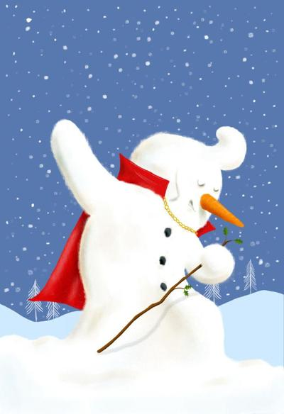 snow-elvis