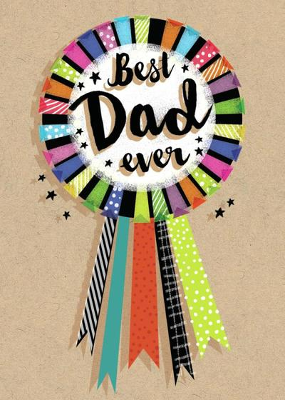best-dad-rosette