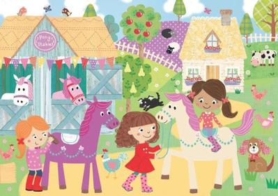 puzzle-pony-girls-stable-farm-louise-anglicas