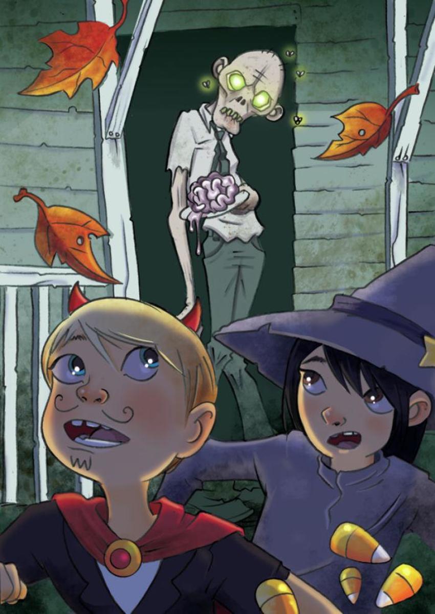Zombie Halloween Line