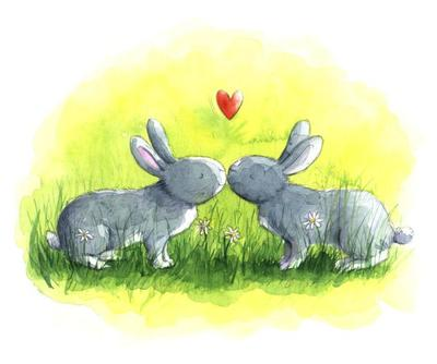 estelle-corke-valentine-easter-kissing-bunnies