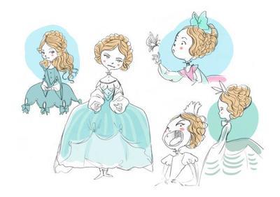 sketches-character-princess