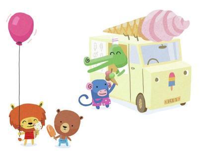 ste-james-craft-paper-animals-ice-cream