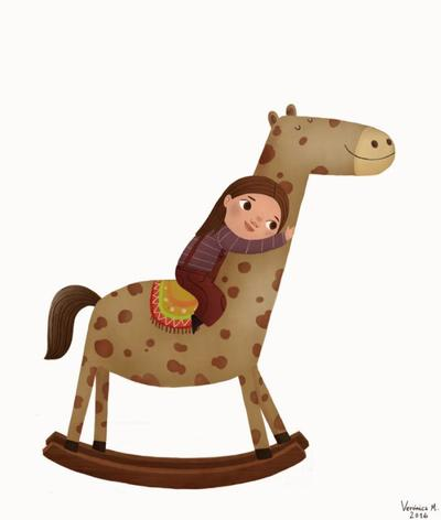 girl-and-woodhorse