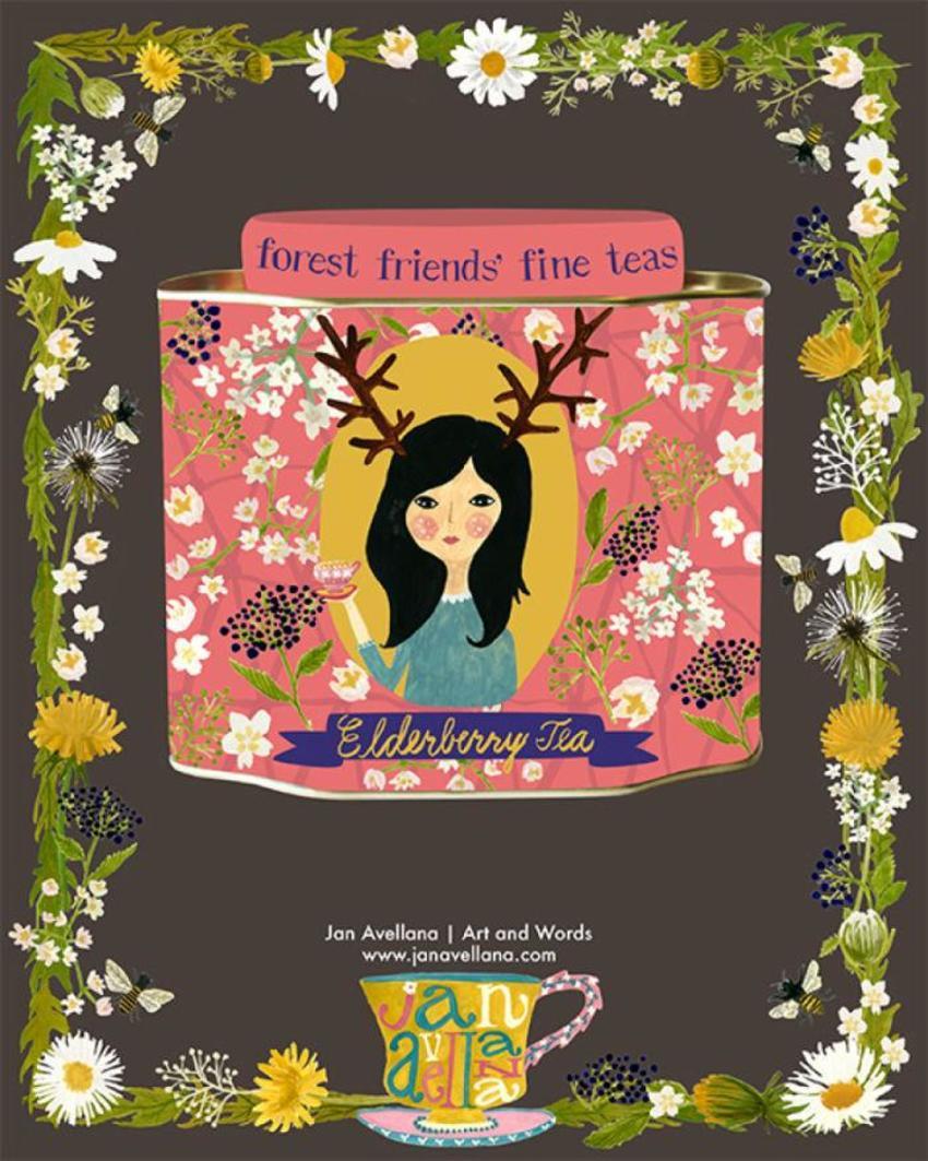 Avellana Forest Tea Deer