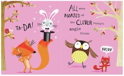 woodland-bunny-fox-owl-squirrel