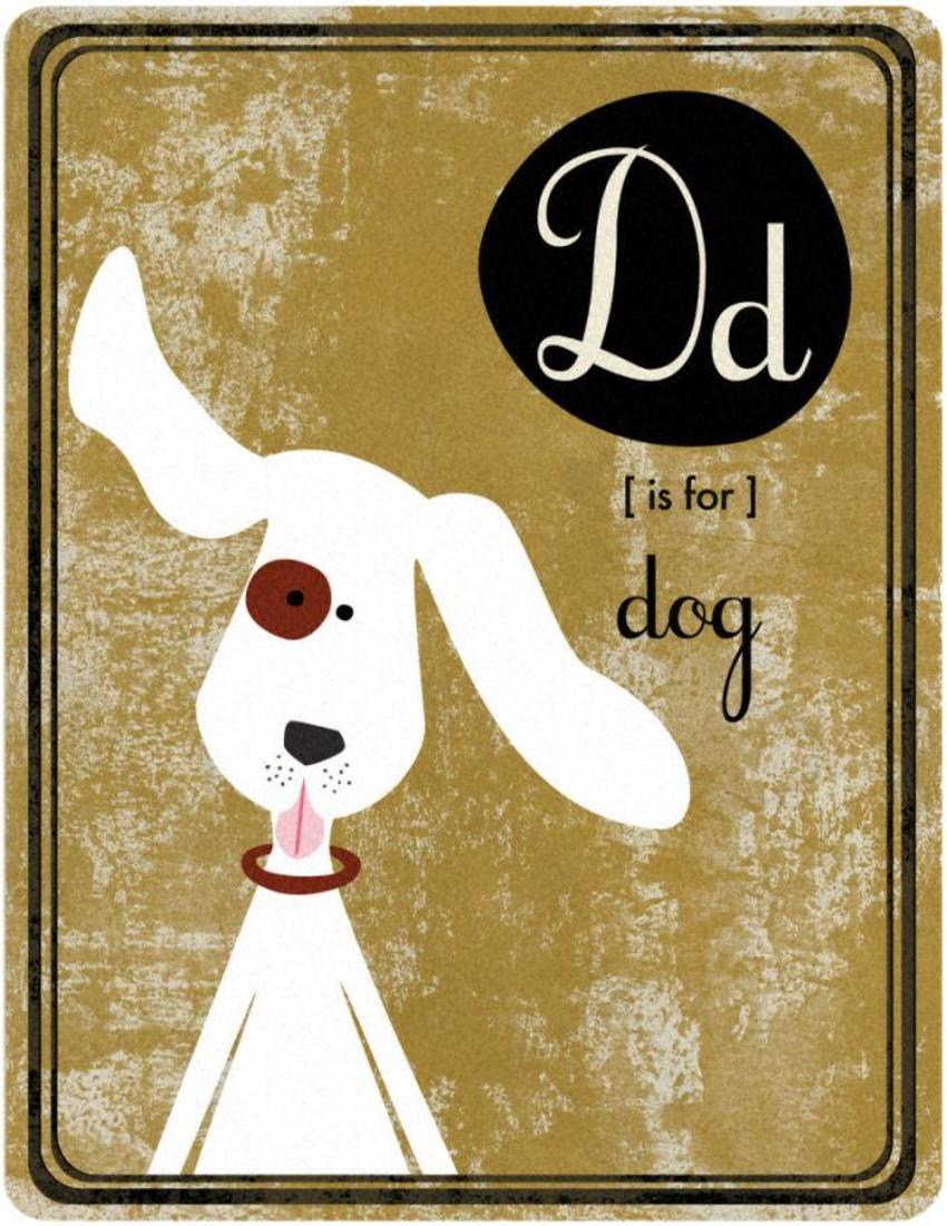 Alphabet D Is For Dog