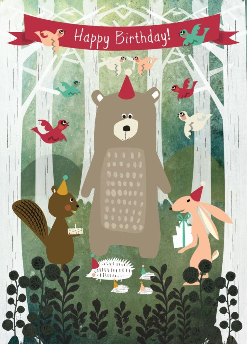 Hbday Forest Animals