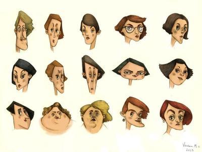 women-faces