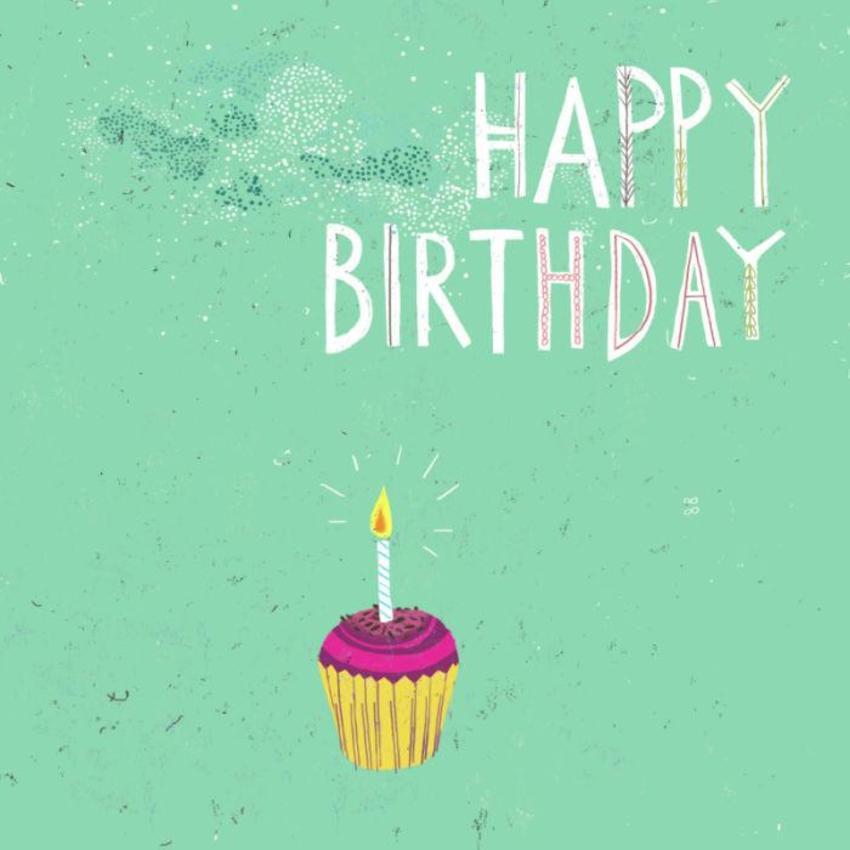 Lila K Birthday Cupcake