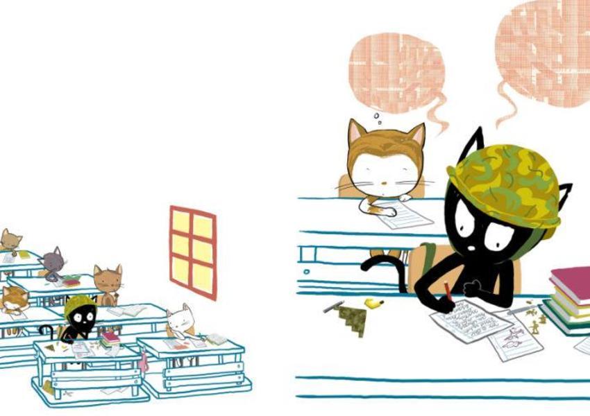 School Math Cat