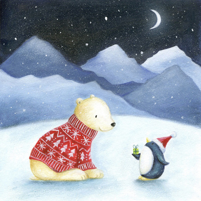 christmas-polar-bear-penguin-snow-mountains-moon-jumper-jpg
