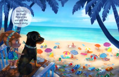 not-allowed-dogs-beach-png