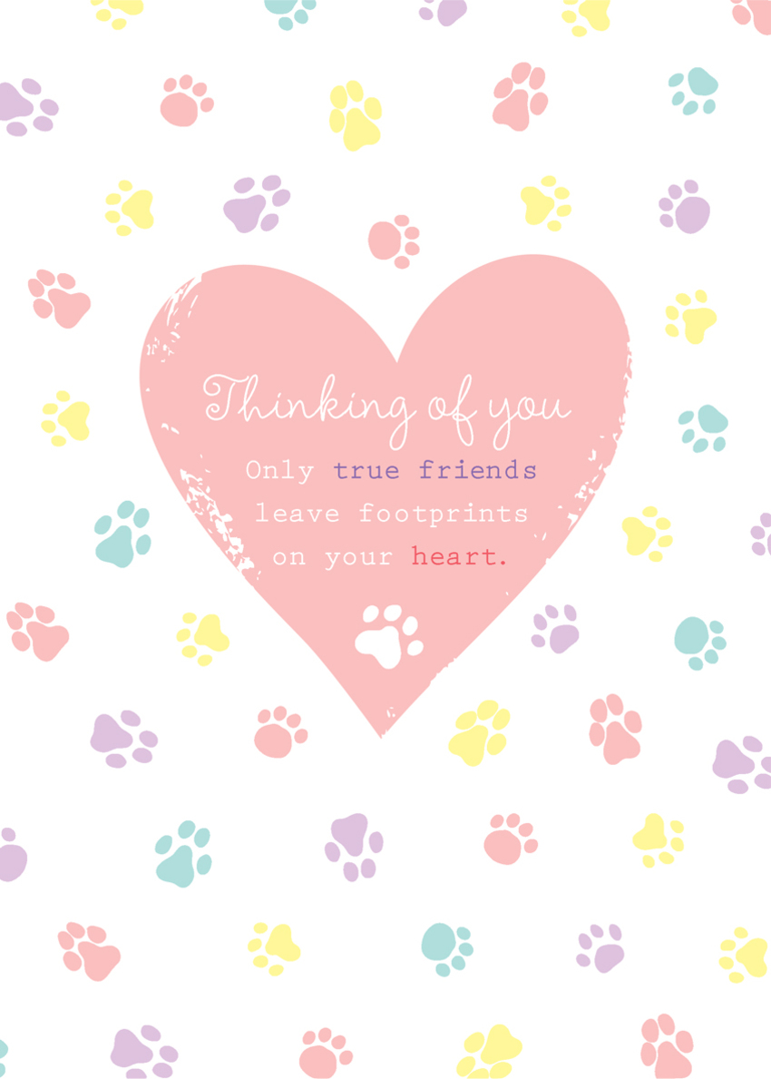 loss of pet sympathy pet thinking of you dog and cat paw prints and heart.jpg