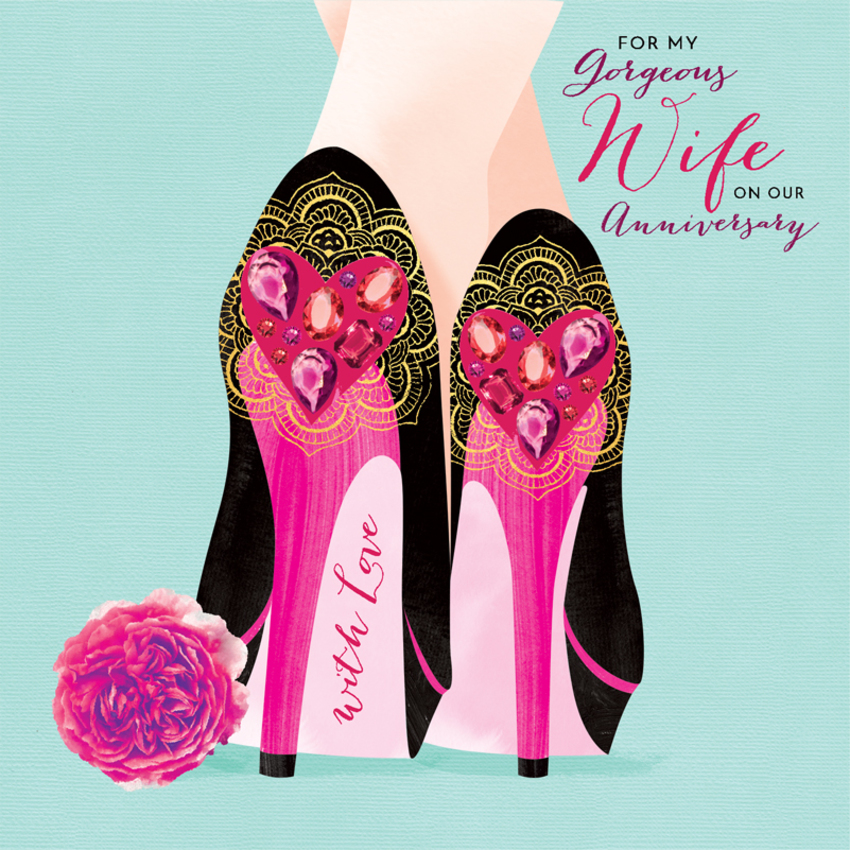 wife anniversary valentines day female birthday daughter sister friend heels with love hearts.jpg