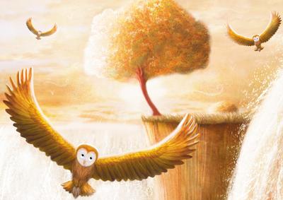 owls-flying-waterfall-tree-jpg