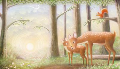 hugs-for-mummy-deer-morning-hinkler-jpg