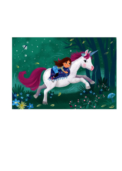 melanie-mitchell-unicorn-girl-magical-forest-jpg