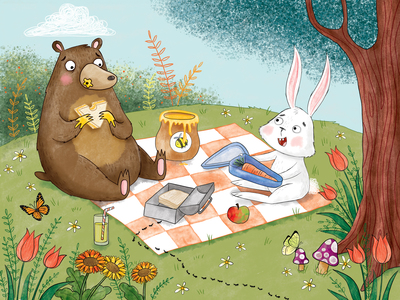rabbit-bear-garden-picnic-jpg