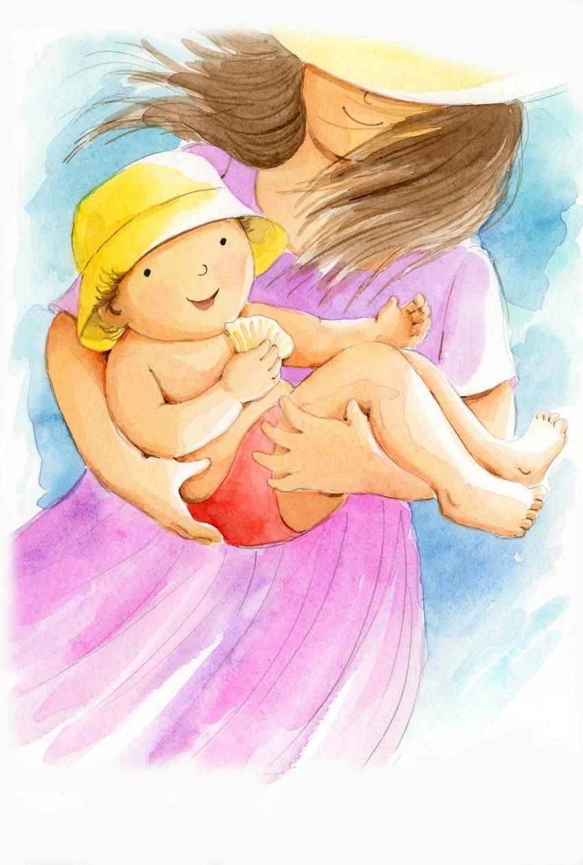 e corke baby beach mummy birthday.jpg