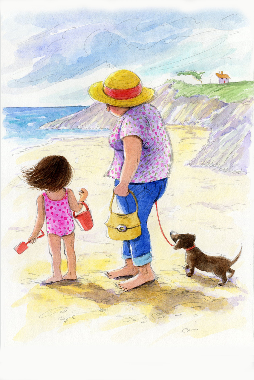 e corke beach grandma puppy girl birthday.jpg