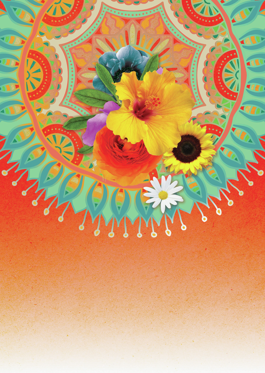 LSK Funny Sunny Mandala blue orange floral sunflower.jpg