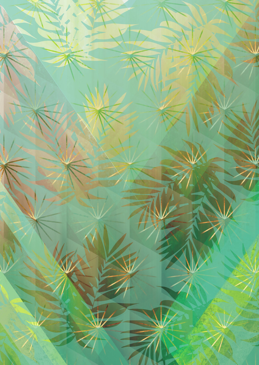 LSK Pleasure Park gradient ombre fern leaves.jpg