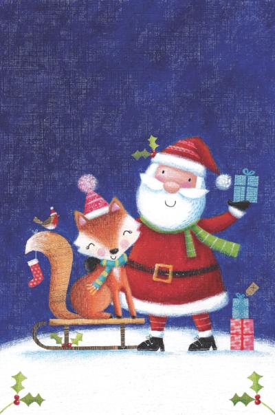 santa-and-fox-design-png