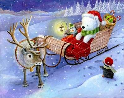 reindeer-pulling-sleigh-with-penguins-christmas-lr-jpg
