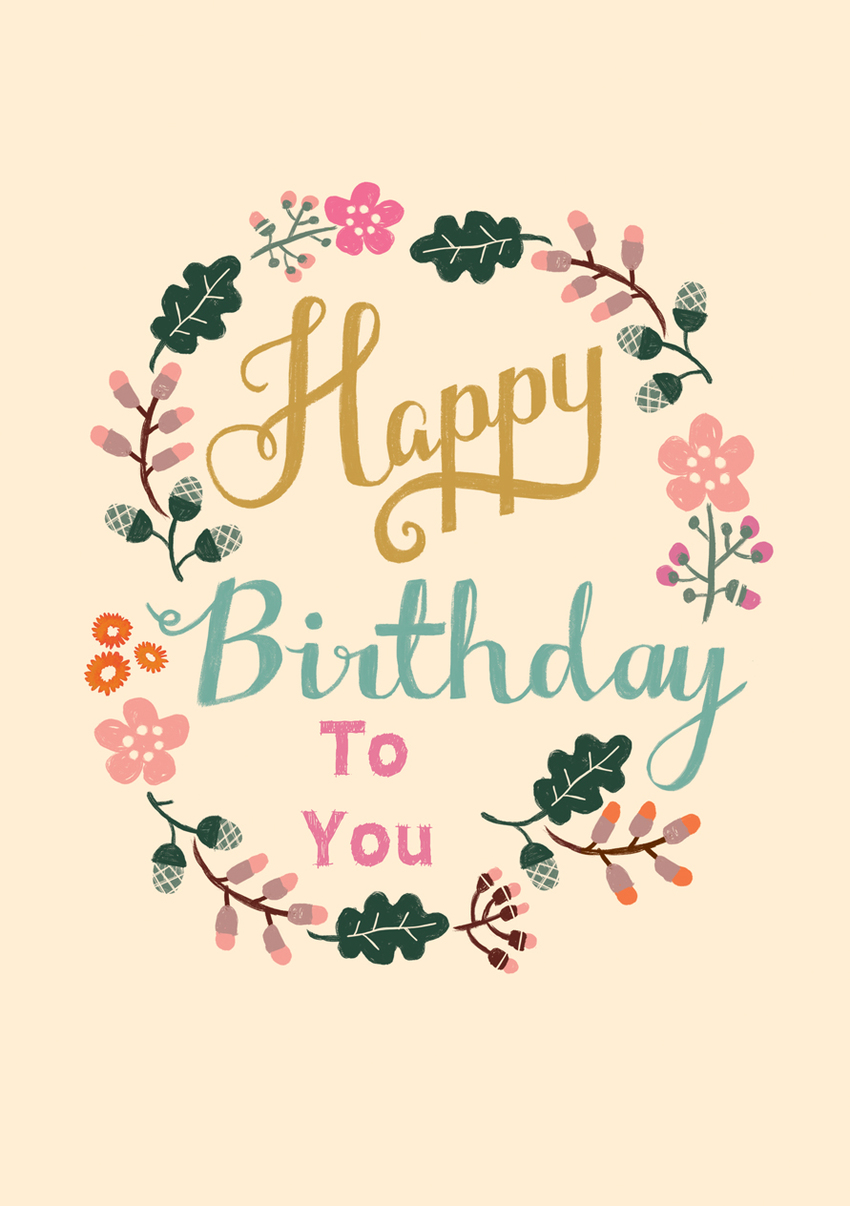 Louise Anglicas_happy birthday painted floral hand text.jpg