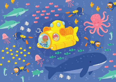 cute-underwater-submarine-and-sealife-jpg