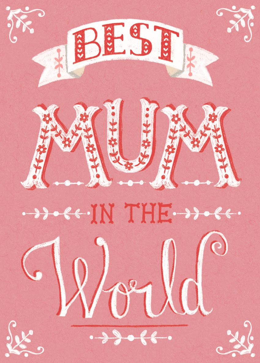 LAS_Best mum in the world birthday Text Typography card.jpg
