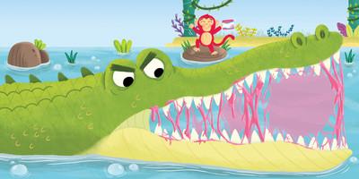 crocodile-monkey-animals-jpg